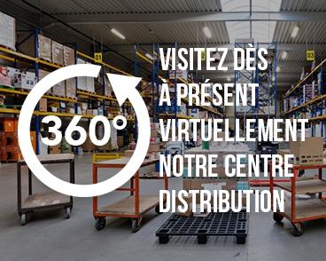 Visitez dès à présent virtuellement notre centre distribution