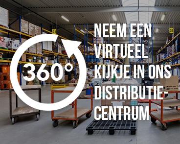 Neem een virtueel kijkje in ons distributiecentrum