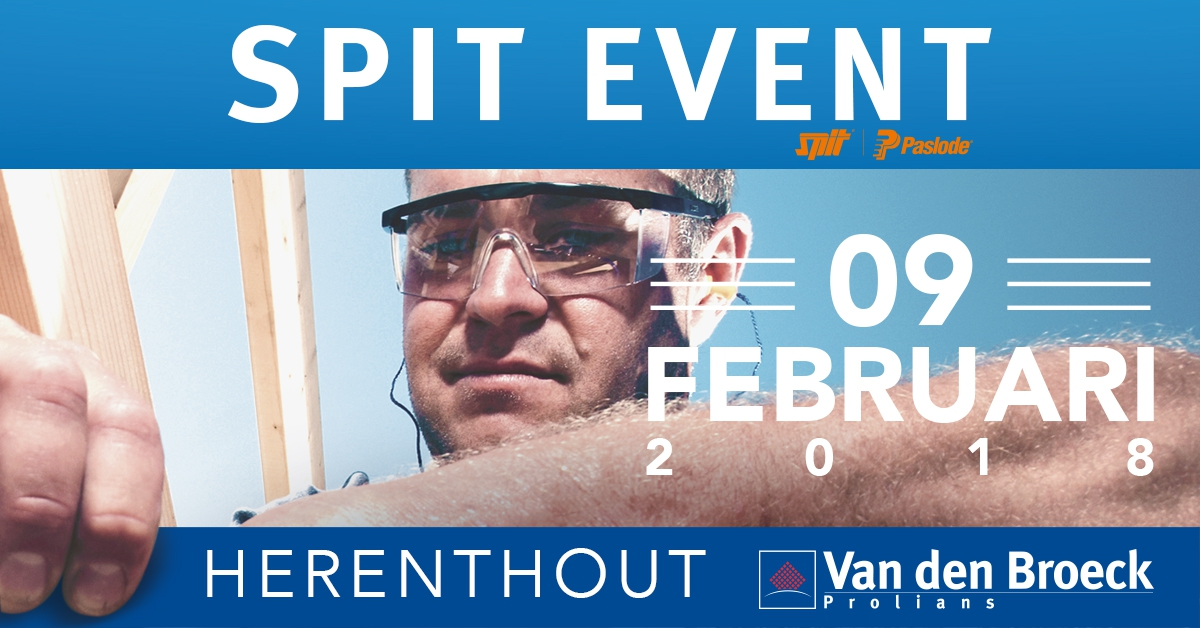 Spit event  -  Van den Broeck - Prolians
