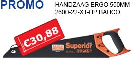 Promo: Handzaag Ergo Bahco