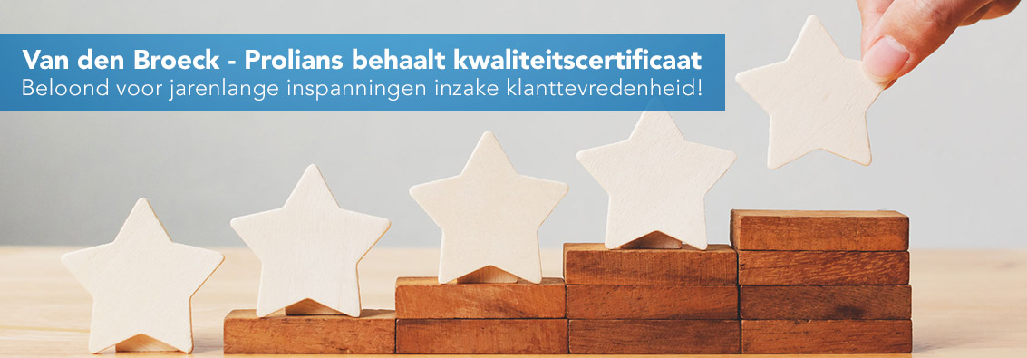 ISO kwaliteitscertificaat