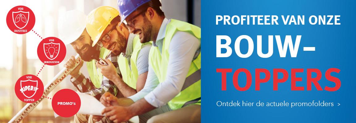 Profiteer van onze bouwtoppers
